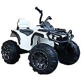 Homcom Voiture 4x4 Quad Buggy électrique 103L x 68l x 73H cm Enfants 3 à 8 Ans...