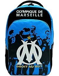 Quo Vadis Olympique Marseille Sac àDos 2 Compartiments 32 x 16 x 45 cm