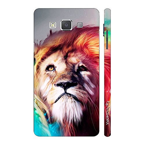 Enthopia Designer Hardshell Case Power Flow Back Cover for Samsung Galaxy E5  available at amazon for Rs.95