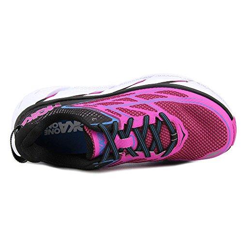 Hoka Clifton 3 Women's Scarpe Da Corsa - AW16 Anthracite / Neon Fuchsia
