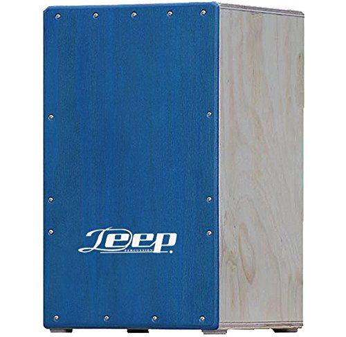 Deep 1001TBL Cajon Flamenco en Color Azul