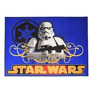 Associated Weavers 0309066 Star Wars S Spielteppich, 95 x 133 cm, Nylon, blau