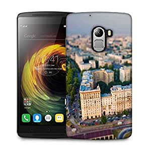 Snoogg White Big Palace Designer Protective Phone Back Case Cover for Lenovo Vibe K4 Note