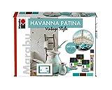 Marabu - Acryl-Patinaeffektfarbe, Havanna Patina, Set Vintage Style