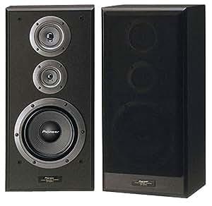 pioneer cs 5070 3 wege regallautsprecher 140 w bassreflex technik schwarz audio. Black Bedroom Furniture Sets. Home Design Ideas