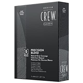 American Crew Precision Blend Dark 40 ml - Pack of 3