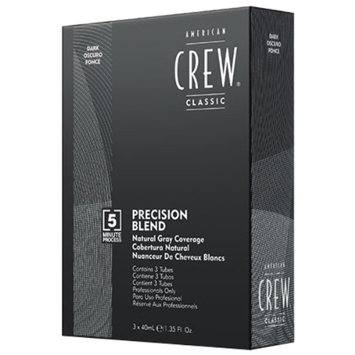 American Crew Precision Blend Dark Haartönung, 1er Pack (3 x 40 ml)