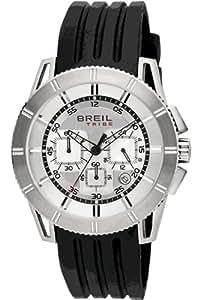 Breil Tribe - TW0441 - Montre Homme - Quartz - Chronographe - Chronomètre - Bracelet Caoutchouc noir