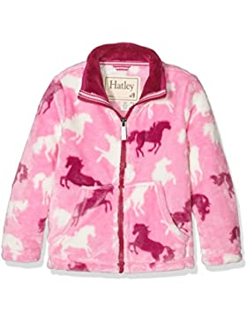 Hatley Mädchen Jacke Fleece Jacket - Fairy Tale Horses