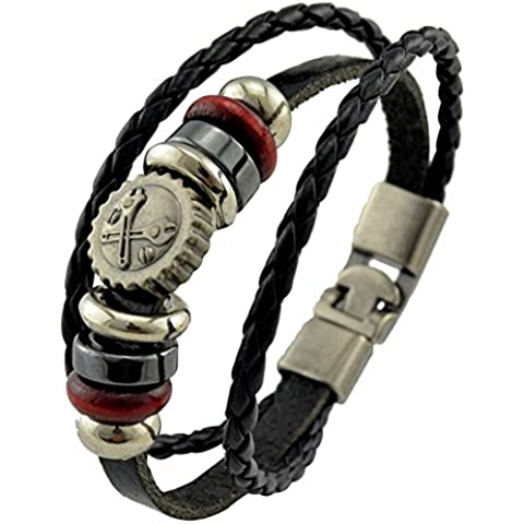 SaySure - Punk Style Accessorie Handcrafted Men's Bracelet Two