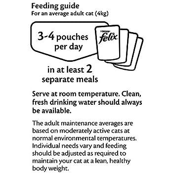Felix - Nourriture pour chat, Cod, Tuna, Salmon, Plaice
