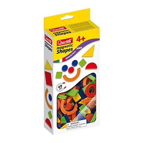 Quercetti - 13/5464 - Juegos Magnetic Shapes 49 pzas 4 años