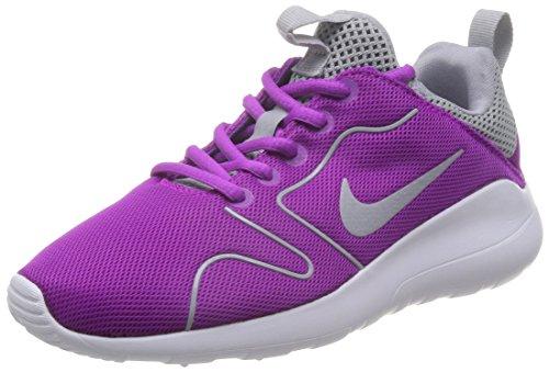 Nike Kaishi 2.0 da Lauchuhe, Scarpe da Corsa Donna Morado (Hyper Violet / Wolf Grey-White)