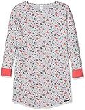 Skiny Mädchen Nachthemd Wonderland Sleep Girls Sleepshirt Langarm, Mehrfarbig (Grey Stars 6619), 164