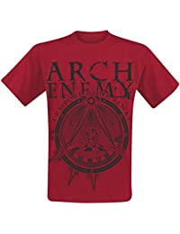 Arch Enemy, T-Shirt, Symbol red