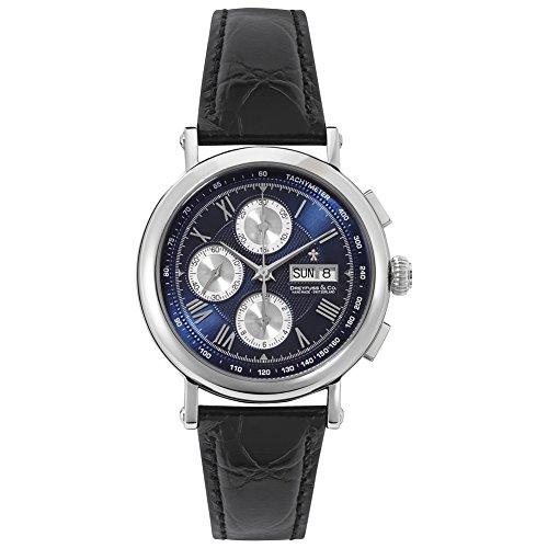 Dreyfuss & Co dgs00050–05–Orologio, cinturino in pelle colore marrone