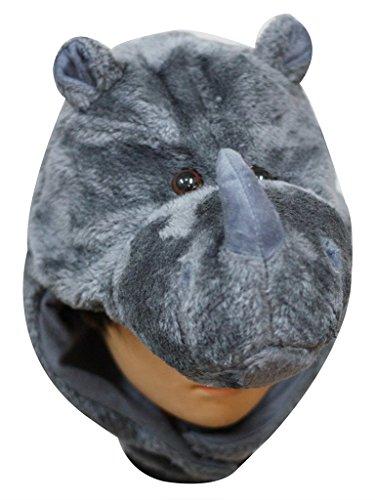 Baby Kostüm Nashorn - Petitebelle Halloween-Kostüm Tiere Hut Unisex-Kleidung Freie Größe Einheitsgröße Nashorn