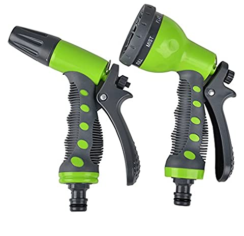gardtech Multi Spray Vaporisateur Pistolet d'arrosage Kit de démarrage 7Patterns Pulvérisateur Buses 2