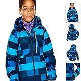 Sport Im Freien Großer Junge Mädchen Bergsteigen Fleece Jacken Kind Skianzug,Blue,140