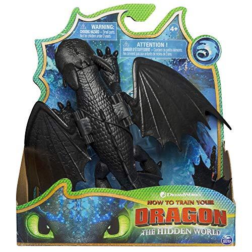 Cómo entrenar a tu dragón - Dragón Desdentado Articulado Deluxe, Dragons Toothless (Bizak 61926548)