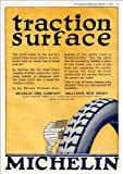 Very Nice A4 Glossy Print Of A Vintage Ad - 'Michelin Tires'