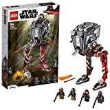 LEGO 75254 Star Wars AT-ST Raider Vehicle Set with Firing Shooters and 4 Minifigures, TV Series The Mandalorian Collection, multicolour