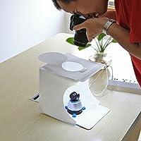 estudio fotográfico Tienda Mini portátiles fotografía caja de Luz Kit regulable plegable Disparo LED min iluminación Fondo Habitación