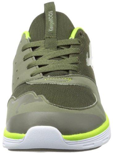 Kangaroos Superb, Baskets mode homme Vert (880 Olive Lime)