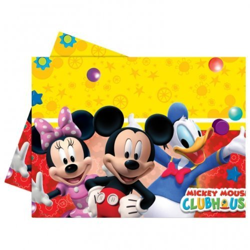 Image of Mickey Mouse Clubhouse Party - Playful Mickey Plastic Tablecover