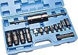 Herkules Werkzeuge 14 TLG Injektor Abzieher Auszieher CDI Einspritzdüsen