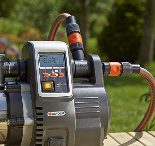 Gardena 6000/6E LCD Inox - 6