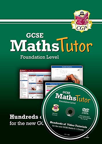 MathsTutor: GCSE Maths Video Tutorials (Grade 9-1 Course) Foundation - DVD-ROM for PC/Mac