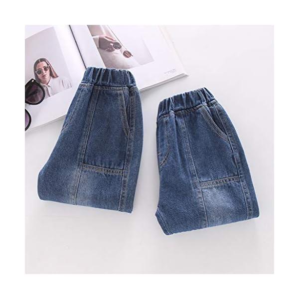 QinMMROPA bebé niñas niños Jeans Vaqueros Pantalones Largos 5