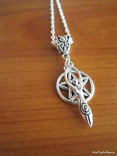 collana-pentacolo-dea-madre-pendente-pentacolo-celtico-pagano-handmade