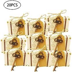Boîte À Bonbons Innovante Coffret Cadeau Ensemble En Forme De Clé Ouvre-bouteille Boîte À Bonbons Ensemble Cadeau De Mariage Pour Les Invités Voyage Décorations Sur Le Thème