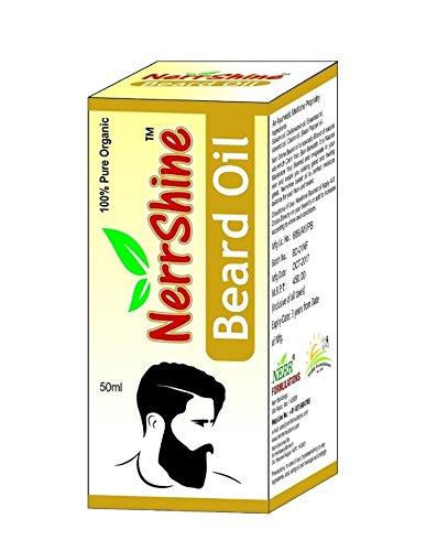 NERR Beard Oil / Oil For Beard Growing / Beard and Hair Growth Oil - 50 ml
