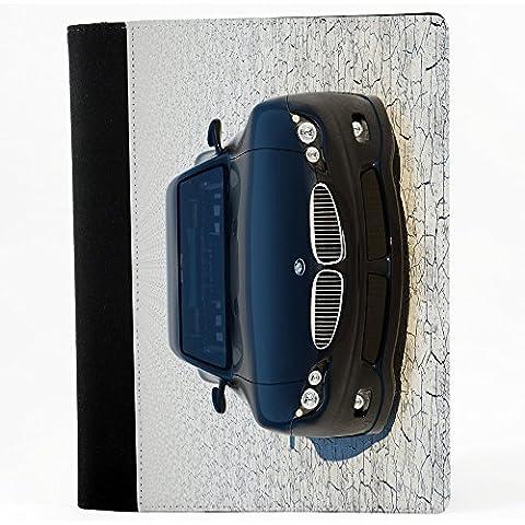 Auto 10020, Elegant, Nero Polyester Cartella Congressi block notes Taccuino