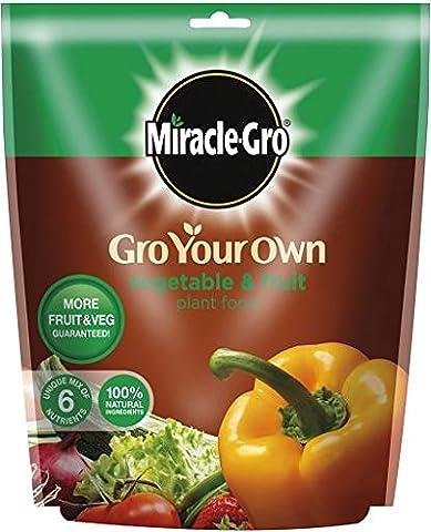 Engrais Miracle-Gro Engrais aliments vos propres fruits légumes &Sac de 1,5 kg