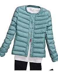 Kasen Donna Giacche Corto Piumino Cappotto Ultraleggeri Trapuntato Packable Inverno  Giacca 716e6c06589