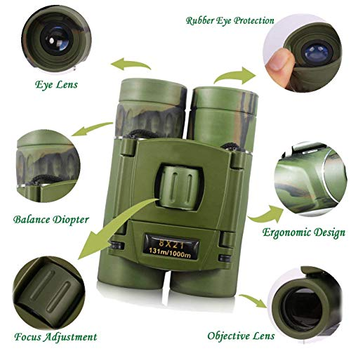 Zoom IMG-3 cannocchiale mini binocolo impermeabile antiappannamento