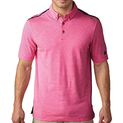 Aeroknit bonded polo Herren Poloshirt EQT Pink