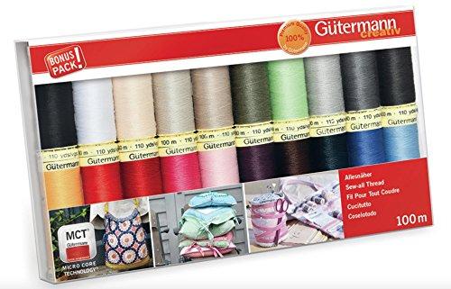 Gutermann Juego de hilos: coser 20 unidades