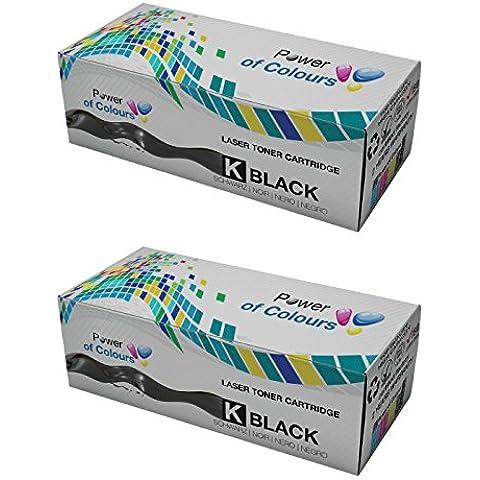 Power of Colours 2 Compatibile Nero Cartucce Toner per HP