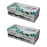 Power of Colours 2 Compatible Noir Cartouches de Toner pour Epson AcuLaser M1200 (3200 Pages)