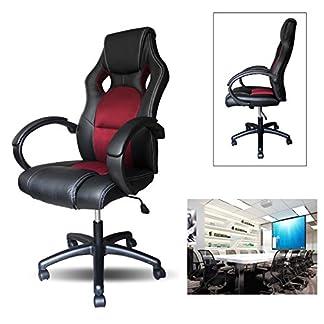 HG® Poliuretano Racing Ejecutivo silla de oficina giratoria