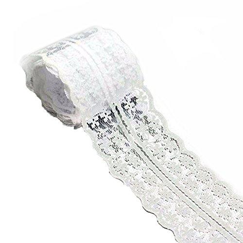 20m Vintage estilo hay cordón del estiramiento de la cinta decoració