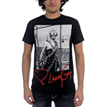 Lady Gaga - Zigaretten Erwachsene Kurzarm T-Shirt in schwarz
