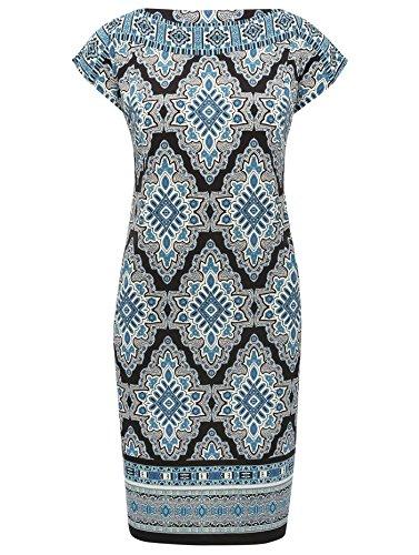 mco-ladies-flattering-short-cap-sleeve-front-pocket-tile-print-border-tunic-shift-dress-blue-12
