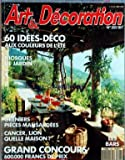 Telecharger Livres ART ET DECORATION No 303 du 01 07 1991 60 IDEES DECO KIOSQUES DE JARDIN GRENIERS PIECES MANSARDEES CANCER LION QUELLE MAISON GRAND CONCOURS LES BARS (PDF,EPUB,MOBI) gratuits en Francaise