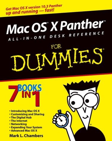 Mac OS® X PantherTM All-in-One Desk Reference for Dummies® PDF Books